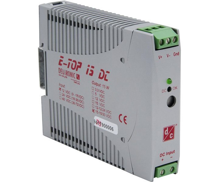 E TOP15DC - E-TOP15DC 15 WATT