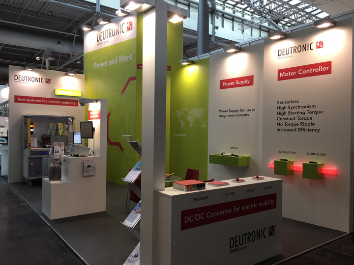 The HMI 2018 is all about electro mobility for Deutronic