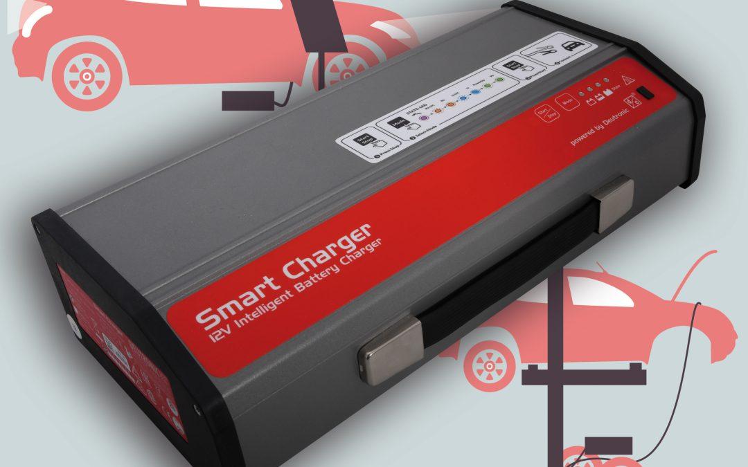 Veröffentlichung von publish-industry über Deutronic-Batterieladegeräte für Werkstatt und Showroom