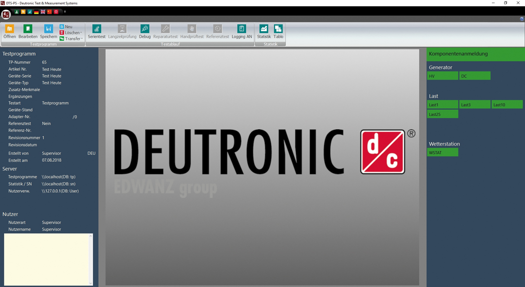 DTS PS 01 - Deutronic Test Systems