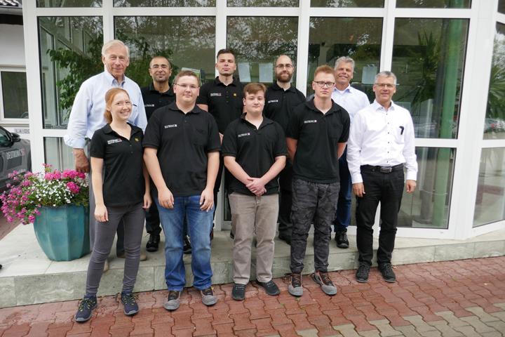 AzubiChefs 2019 - Die Deutronic Elektronik GmbH begrüßt ihre neuen Berufsstarter