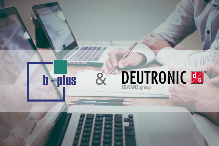Deutronic-Partnerschaft mit der b-plus group