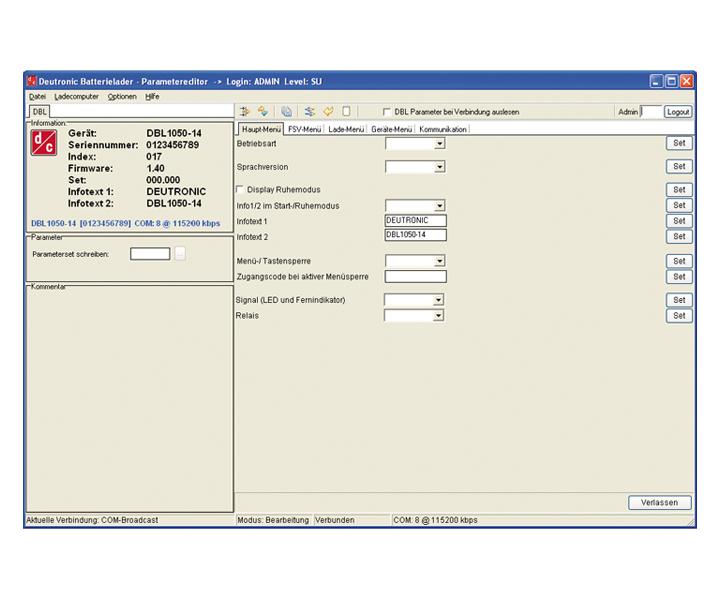 D-Tool Parametriertool MPC4