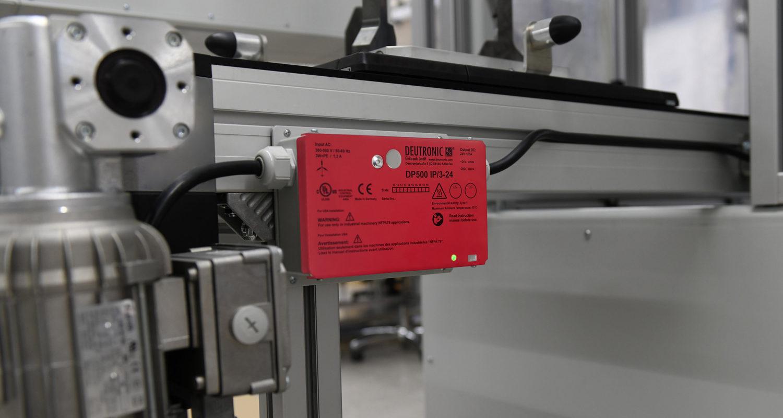 Die DP500IP hält Ihre Förderbänder am Laufen